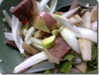 ใส่ผักและผลไม้เคล้ากัน