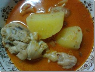 แกงมัสมั่นไก่...สีสวยน่ากินนะฮ๊าาาาฟฟฟ